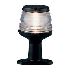 "Aqua Signal Series 20 4"" All-Round Pedestal Light - Black Housing"