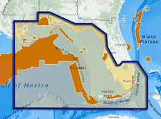 C-map Reveal Ultra High Resolution Bathymetric Chart St Lucie Inlet To New Orleans