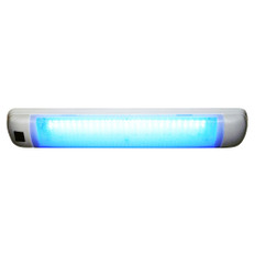 Aqua Signal Maputo Rectangular Multipurpose Interior Light w/Rocker Switch - Blue/White LED
