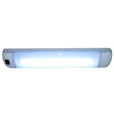 Aqua Signal Maputo Rectangular Multipurpose Interior Light w/Rocker Switch - Hi-White/White LED