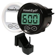 HawkEye DepthTrax 2B In-Dash Digital Depth Gauge - TM/In-Hull
