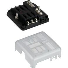 Sea-Dog Blade Style LED Indicator Fuse Block w/Negative Bus Bar - 6 Circuit