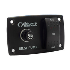 Albin Pump 3-Way Bilge Panel - 12/24V