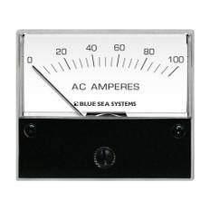 "Blue Sea 8258 AC Analog Ammeter - 2-3/4"" Face, 0-100 Amperes AC"