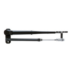 """Marinco Wiper Arm Deluxe Black Stainless Steel Pantographic - 17""""-22"""" Adjustable"""
