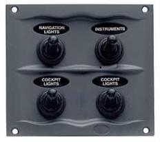 BEP 900-4WP 4 Way Switch Panel