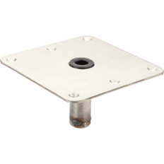 Attwood Swivel-Eze 7x7 Stainless Steel Plate Acetal Bushing Threaded