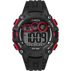 Timex Men's Big Digit DGTL 48mm Watch - Red/Black