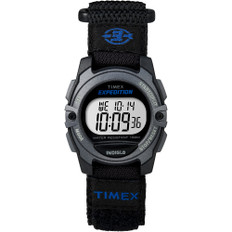 Timex Expedition Digital Core Fast Strap - Black/Blue