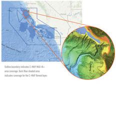 C-map Reveal Ultra High Resolution Bathymetric Chart San Diego To Santa Cruz