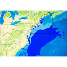 C-map Reveal Ultra High Resolution Bathymetric Chart Us Atlantic Ny - Ma