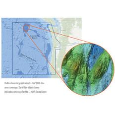C-map Reveal Ultra High Resolution Bathymetric Chart S. Oregon - N. Washington