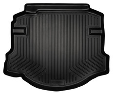 FORD TAURUS/LINCOLN MKS WB TRUNK LINER 2010-11 FORD TAURUS & 2009-11 LINCOLN MKS CUSTOM MOLDED WEATHERBEATER TRUNK LINER - BLACK