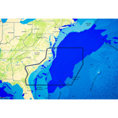 C-map Reveal Ultra High Resolution Bathymetric Chart Us Atlantic Va - Jacksonville