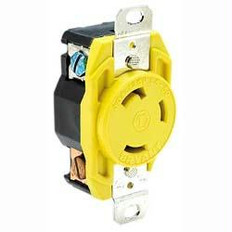 Hubbell HBL305CRR 30A Female Dock Receptacle