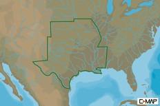C-map Na-y075 Max N+ Microsd South Central Us Lake Insight Hd