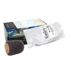 """KiwiGrip 1 Liter Pouch - Grey w/4"""" Roller"""