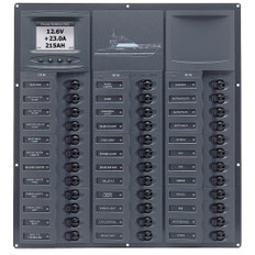 BEP Cruiser Series DC Circuit Breaker Panel w/Digital Meters 36SP DC12V