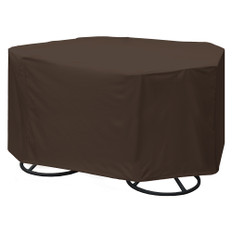 True Guard 4-Chair 600 Denier Rip Stop Patio Dining Set Cover