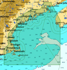 C-map M-na-d939 4d Local Passamaquoddy Bay - Block Isl