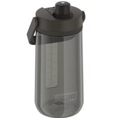 Thermos Guardian Collection Hard Plastic Hydration Bottle w/Spout - 40oz - Espresso Black