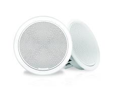 """Fusion Fm-f77rw 7"""""""" White Round Flush Mount Speakers"""
