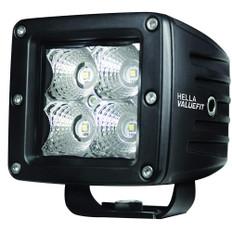 Hella Marine Value Fit LED 4 Cube Flood Light - Black