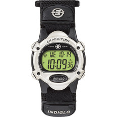 Timex Expedition Women's Chrono Alarm Timer - Silver/Black