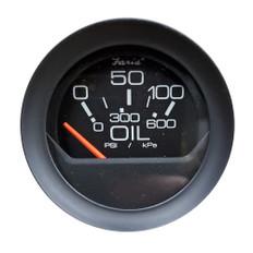 "Faria 2"" Oil Pressure Gauge 0-100 PSI - Black Bezel w/Orange Pointer"