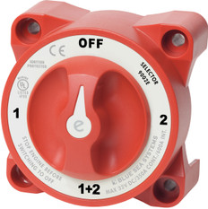 Blue Sea E-series Battery Switch 1-off-2-both With Afd