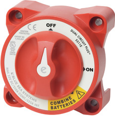 Blue Sea E-series Battery Switch On-off Dual Circuit Plus