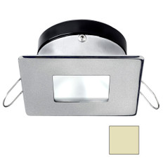 i2Systems Apeiron A1110Z - 4.5W Spring Mount Light - Square/Square - Warm White - Brushed Nickel Finish