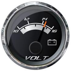 """Faria Platinum 2"""" Voltmeter - 10-16VDC"""