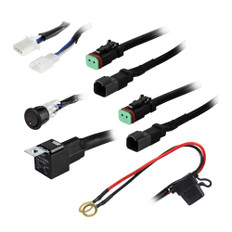 HEISE 2-Lamp Wiring Harness & Switch Kit
