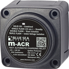 Blue Sea M-series Automatic Charging Relay 12/24vdc 65a