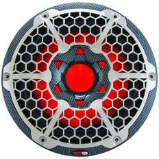 "DS18 HYDRO 10"" Subwoofer w/RGB Lights - 600W - Carbon Fiber"