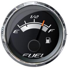 """Faria Platinum 2"""" Fuel Level Gauge (E-1/2-F)"""