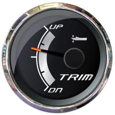"""Faria Platinum 2"""" Trim Gauge f/Johnson, Evinrude & Suzuki Outboards"""
