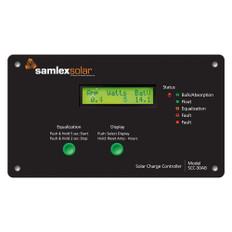 Samlex Flush Mount Solar Charge Controller w/LCD Display - 30A
