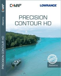 C-map Precision Contour Hd Alabama For Navico - CMAMNAY334MS
