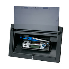 Poly-Planar Spa Side Stereo Enclosure w/Door - Black