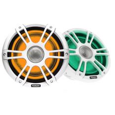 "FUSION SG-FL652SPW Signature Series 3 - 6.5"" CRGBW Speakers - White Sports Grille"