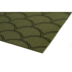 "SeaDek 40"" x 80"" 5mm Sheet Olive Green Brushed Fish Scale - 1016mm x 2032mm x 5mm"