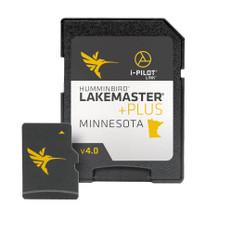 Humminbird LakeMaster PLUS Minnesota V4 w/Lake of the Woods & Rainy River