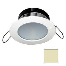 i2Systems Apeiron A1110Z - 4.5W Spring Mount Light - Round - Warm White - White Finish