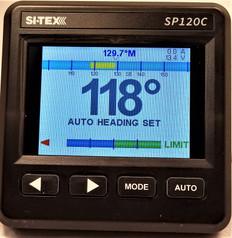 Sitex Sp120c Color Autopilot Rudder Feedback Type T Drive