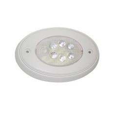 Aqua Signal Vienna Oval LED Multipurpose Light - Surface Mount Push Light - White
