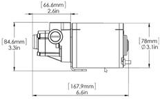 Simrad Pump-2 12v Reversible Hydraulic Pump 4.9 - 15.2cui