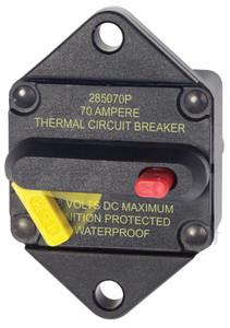 Blue Sea 285-series 70 Amp Circuit Breaker Panel Mount