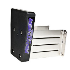 Panther Marine Outboard Motor Bracket - Stainless Steel - Fixed 15HP